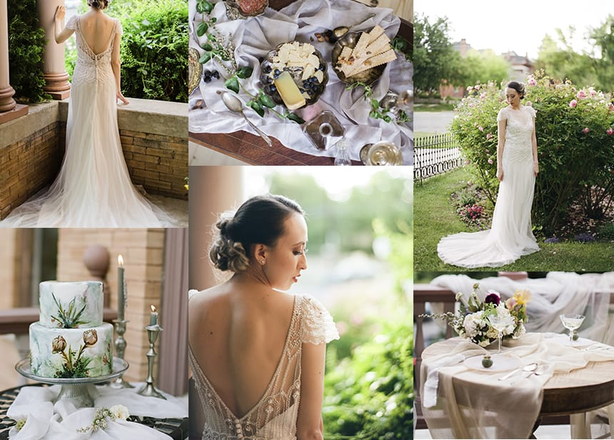 The Vintage Midas Touch - Ettia by Maggie Sottero a Styled Shoot by Jadie Jo Photography
