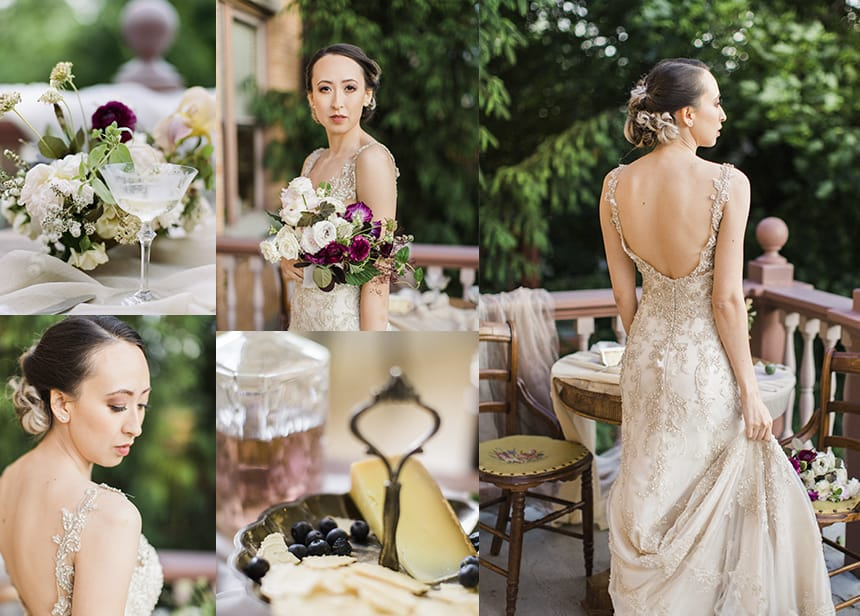 The Vintage Midas Touch - Greer by Maggie Sottero a Styled Shoot by Jadie Jo Photography