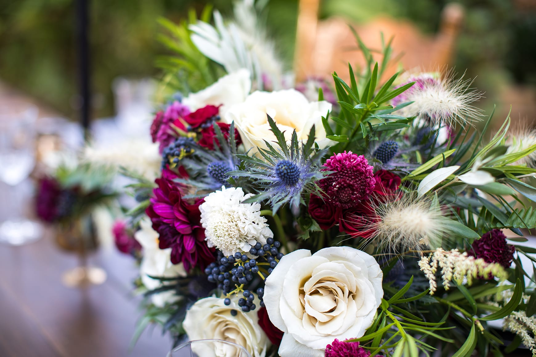 Your Wedding Day Horoscope Inspired by Pantone's Color of the Year, Ultra Violet - Snap Photography Maggie Sottero Styled Shoot
