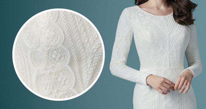 Maggie Sottero Lace Wedding Dress Geraldine Leigh