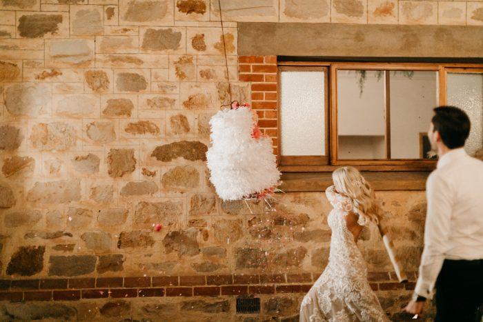 The Boho Wedding - Food Truck Kristina Wild Photography with Dress Dakota by Sottero and Midgley