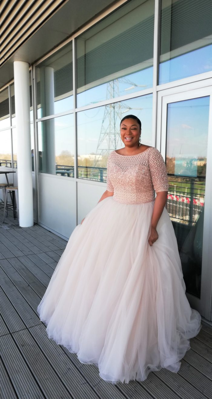 Flattering Wedding Dresses For A Plus Size Bride Love Maggie