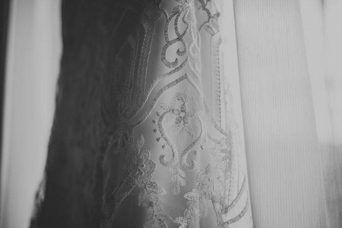 Maggie Sottero Lace Wedding Dress Details