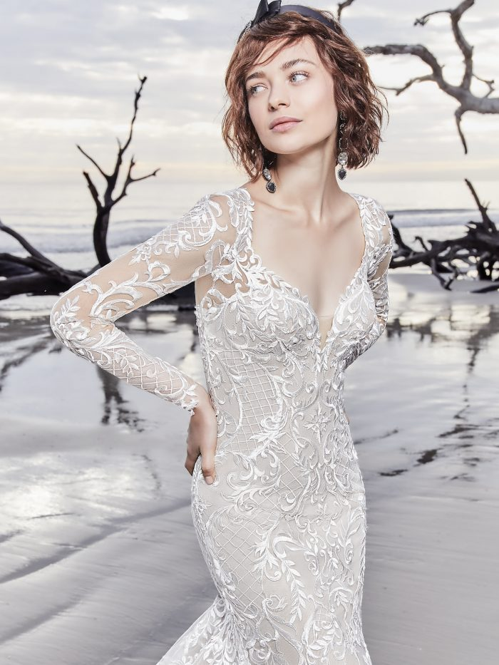 6d26a9d9c0 15 Gorgeous Statement-back gowns for the Stylish Brides   Love Maggie