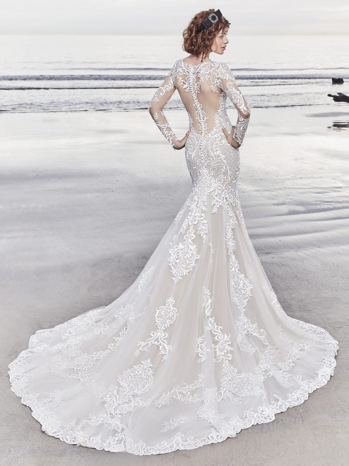 Dakota Lace Wedding Dress Sottero and Midgley