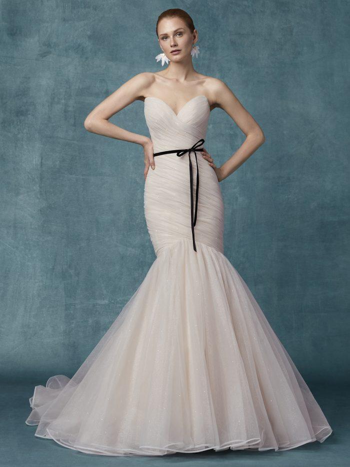 Camden Wedding Dress Maggie Sottero | tulle mermaid wedding dress
