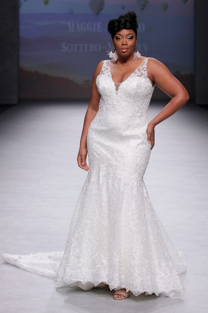 Finding Your Wedding Dress Hot Off the Runway-Logan by Sottero and Midgley