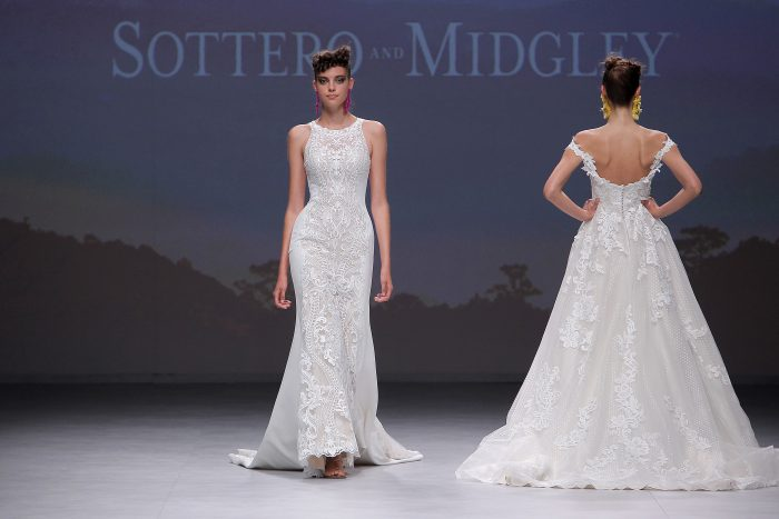 Finding Your Wedding Dress Hot Off the Runway-Kevyn by Sottero and Midgley