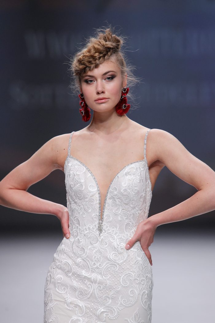 Finding Your Wedding Dress Hot Off the Runway-Christina by Sottero and Midgley