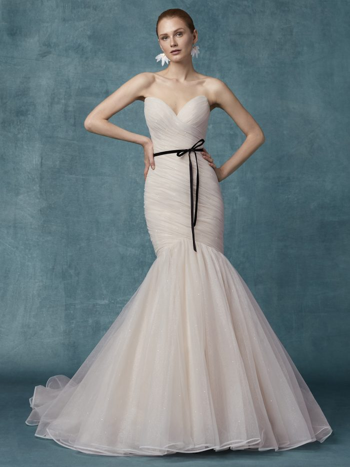 Camden Tulle Mermaid Wedding Dress