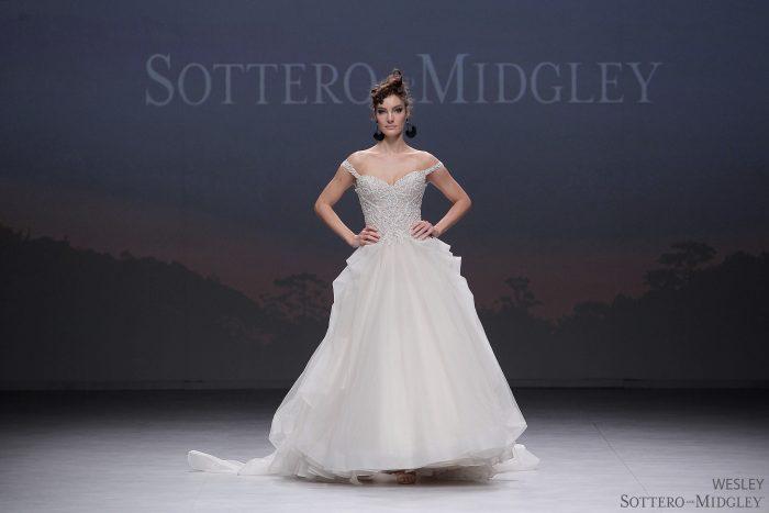 Sottero and Midgley Ballgown Wedding Dress