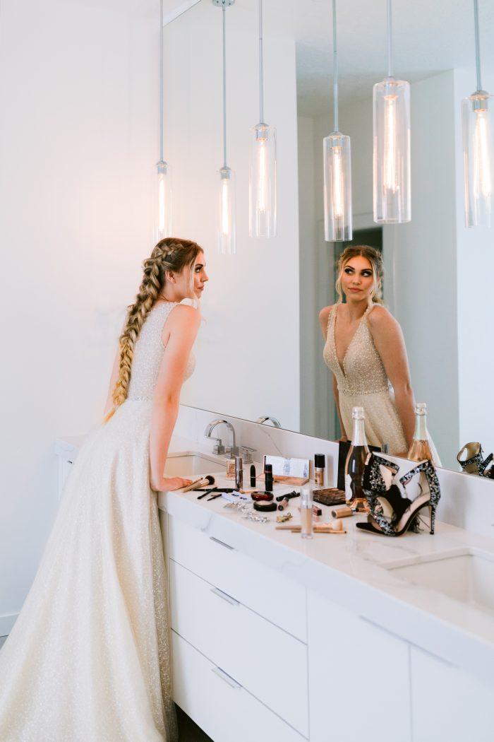 Sottero and Midgley Jarret Glamorous Beaded Wedding Dress