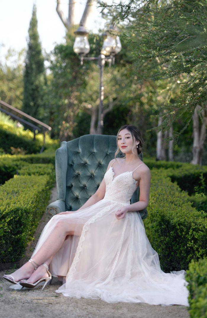 Sottero and Midgley Olson Lace Sheath Wedding Dress