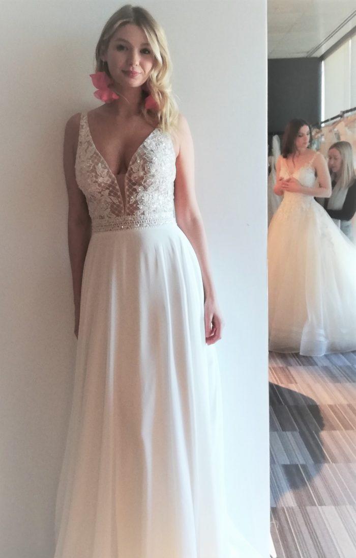 Rebecca Ingram Mildred Boho Wedding Dress