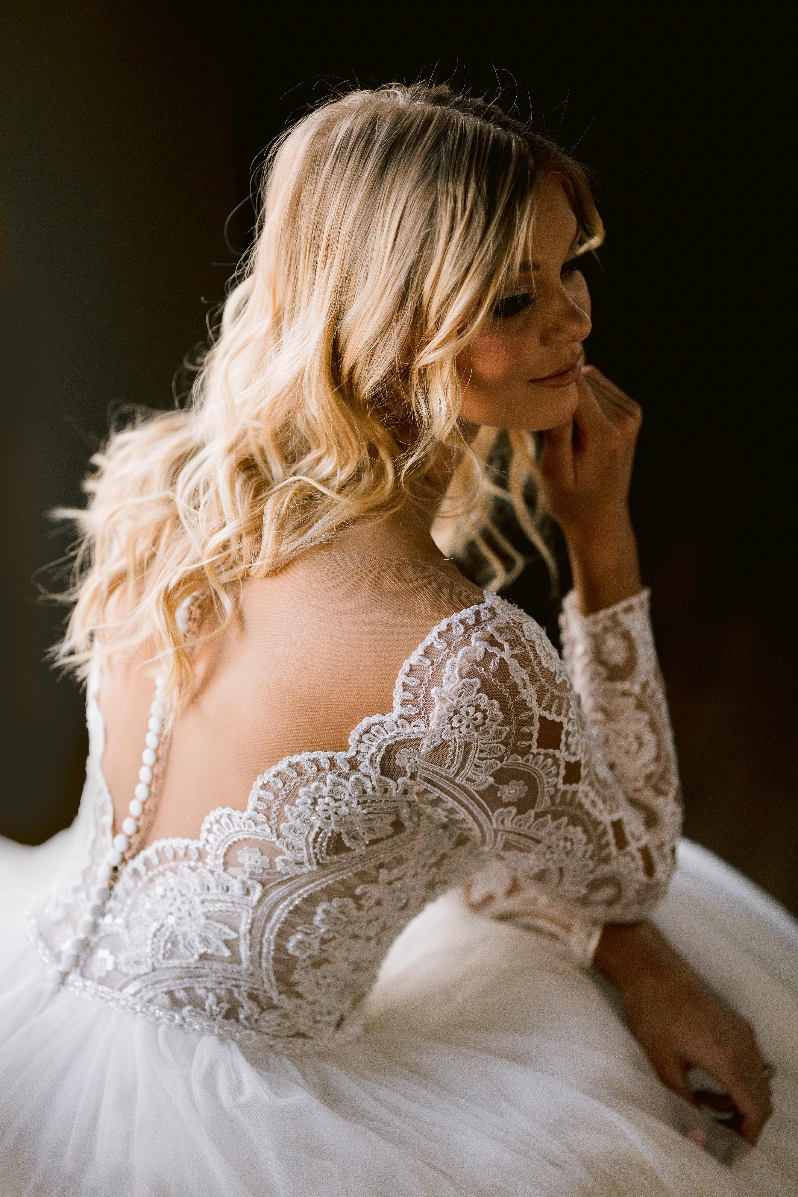 Mallory Dawn Long Sleeve Ballgown Wedding Dress