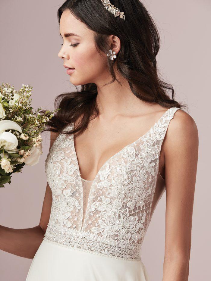 Rebecca Ingram Mildred Sheath Boho Wedding Dress