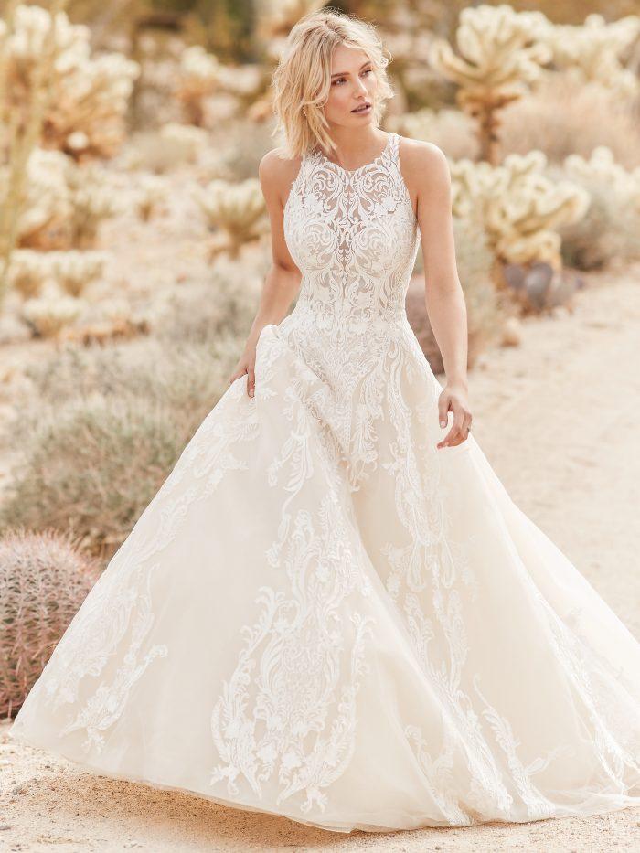 Sottero and Midgley Tovah Lace Ballgown Wedding Dress