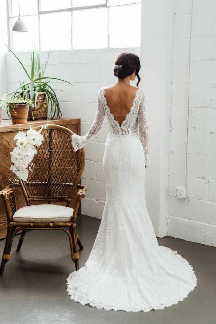 Maggie Sottero Antonia Lace Boho Wedding Dress