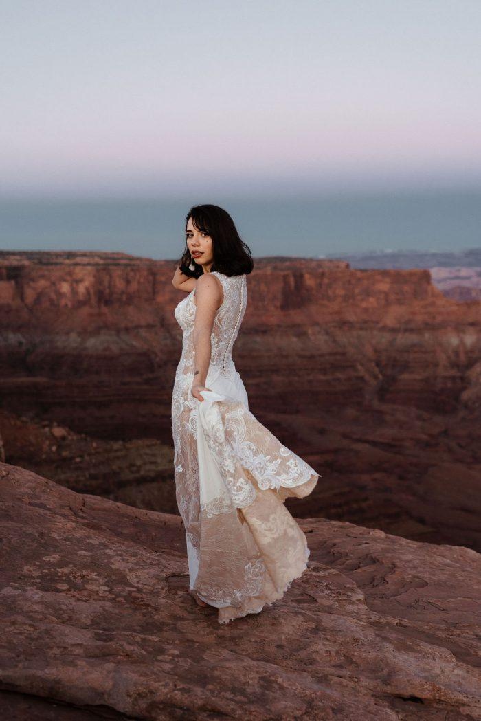 Sottero and Midgley Bradford Lace Boho Wedding Dress