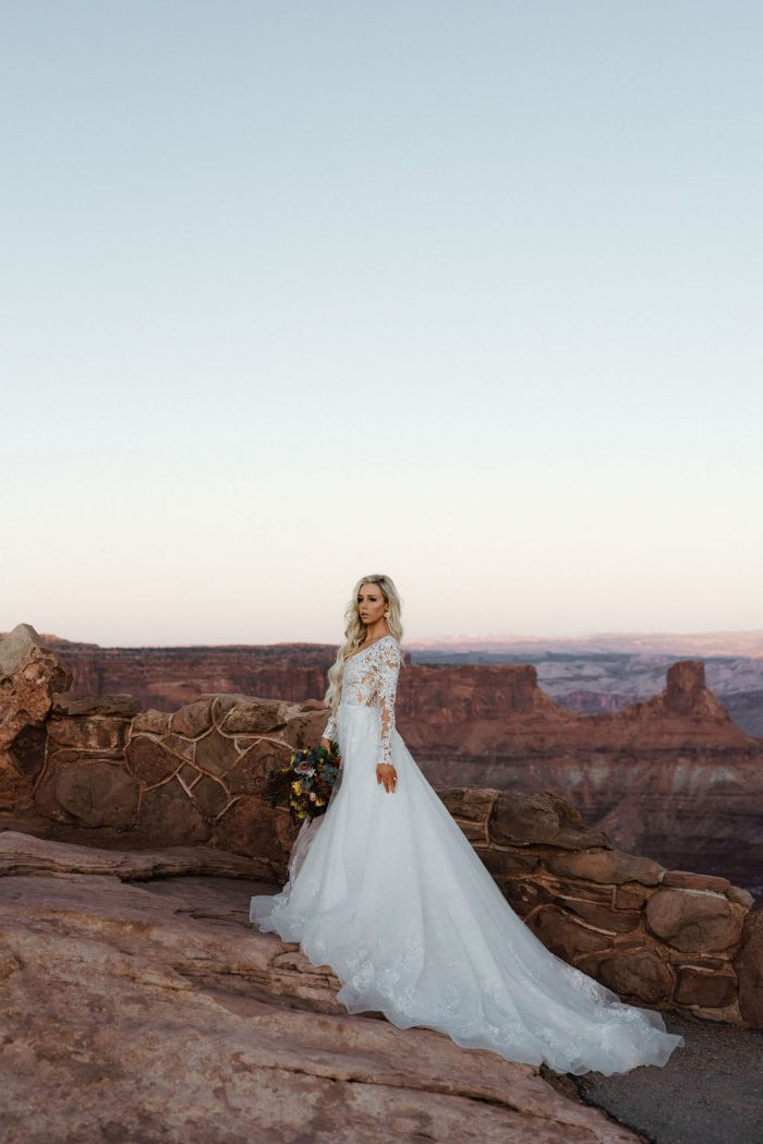 Sottero and Midgley Zander Lace A-line Wedding Dress