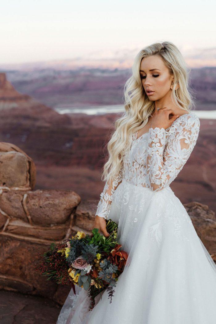 Sottero and Midgley Zander Lace Ballgown Wedding Dress