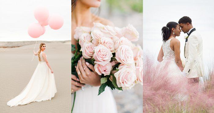 Blush Fairytale Wedding Banner