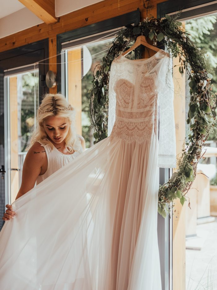 Deirdre Wedding Dress by Maggie Sottero Rustic Wedding Inspiration