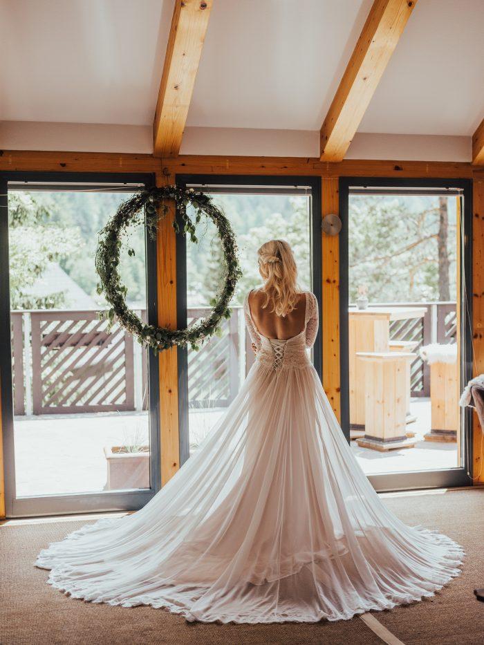 Deirdre Wedding Dress by Maggie Sottero Rustic Wedding Inspiration