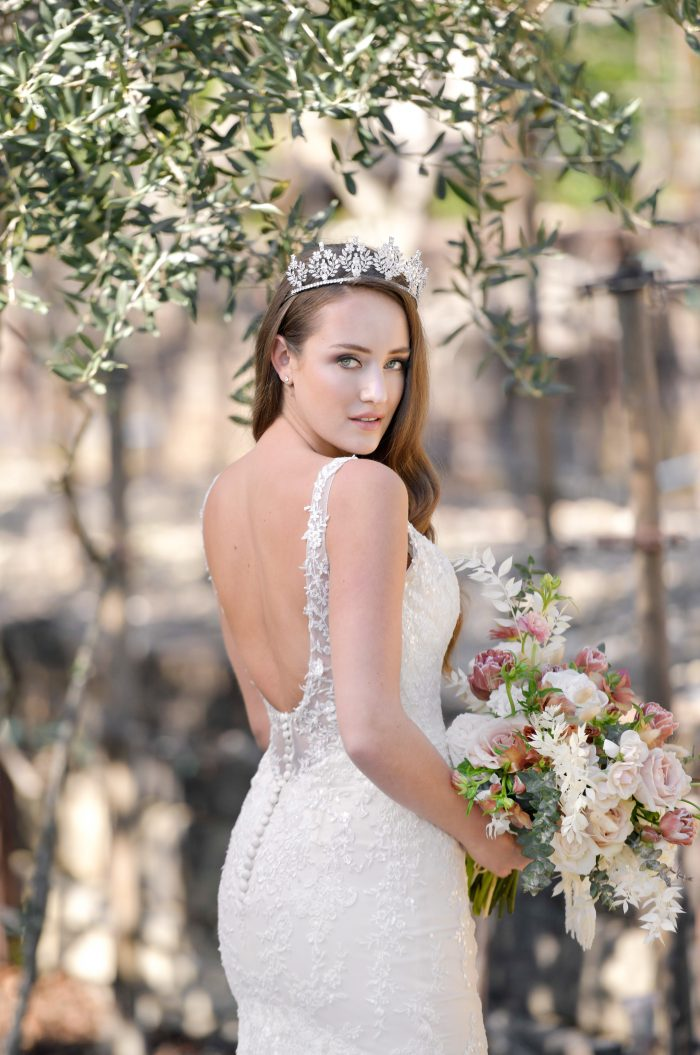 Elora Lace wedding dress by Rebecca Ingram