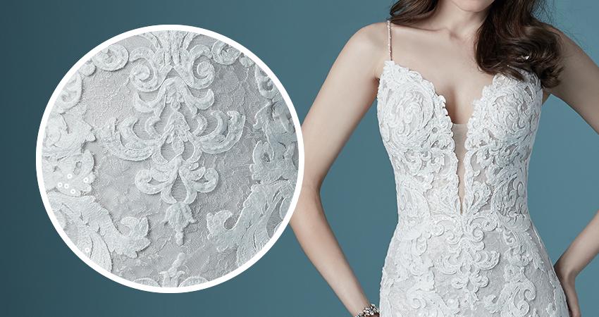 Tuscany Lane Lace Aline Wedding Dress by Maggie Sottero