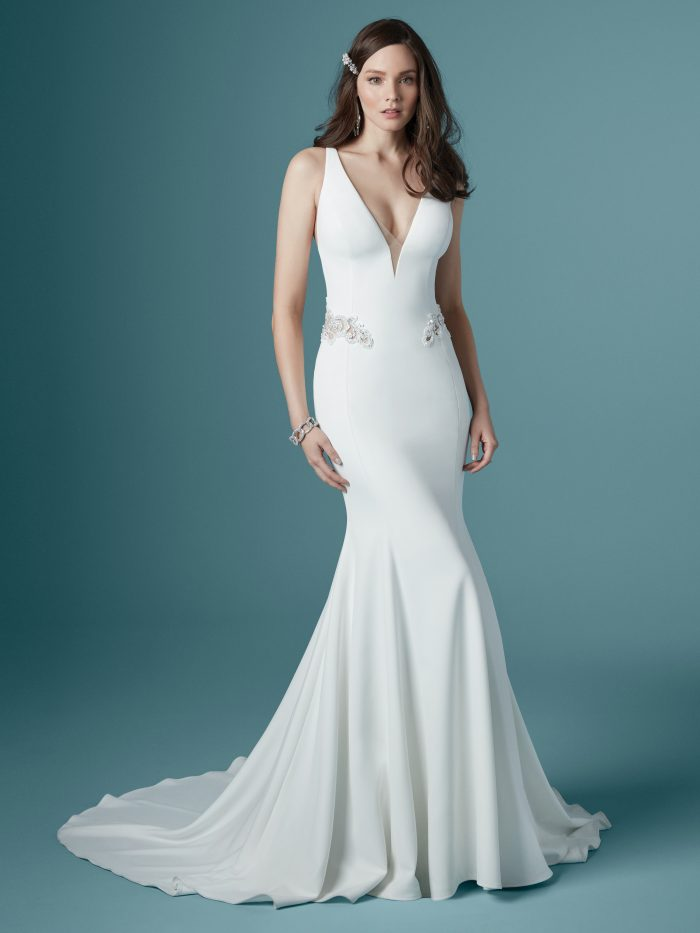 Faith Simple Sexy Wedding Dress by Maggie Sottero