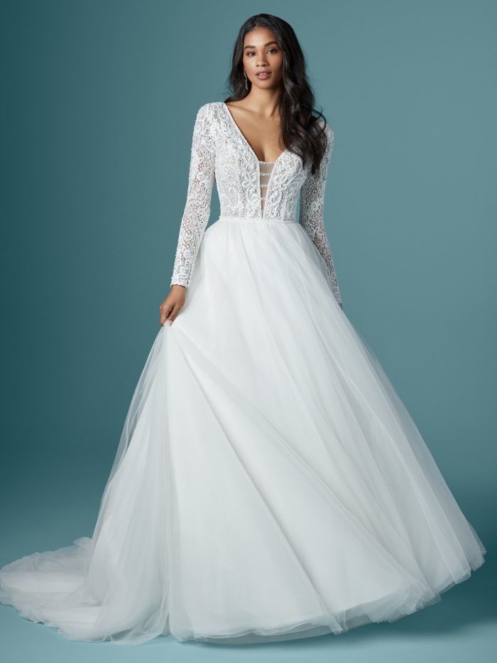 Tiana Lace Ballgown Wedding Dress by Maggie Sottero