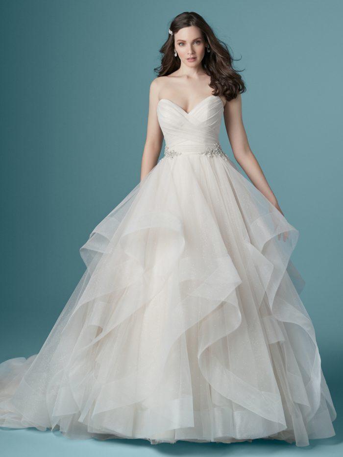 Yasmin Tulle Ballgown Wedding Dress by Maggie Sottero