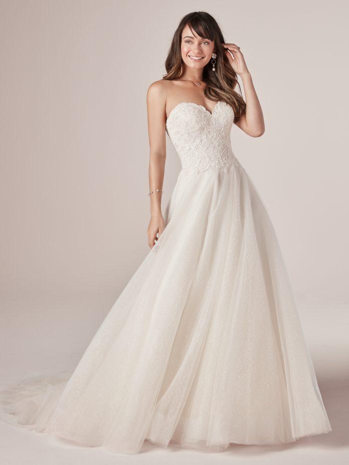 Virginia Lace Tulle Wedding Dress by Rebecca Ingram