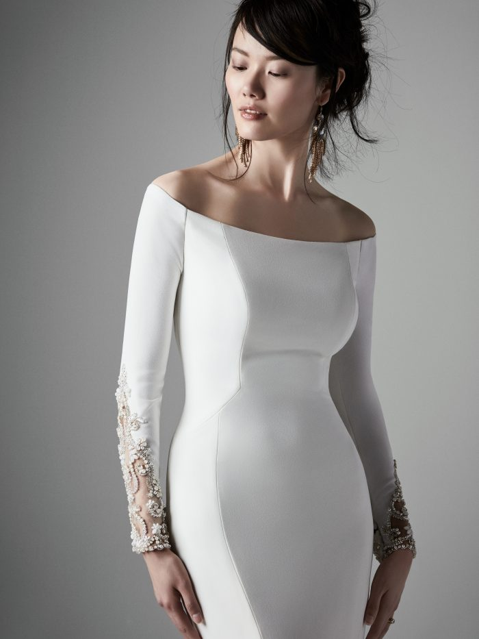 Admina Simple Wedding Dress by Sottero and Midgley