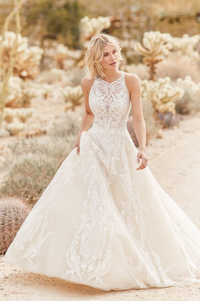 Tovah Lace Ballgown Wedding Dress by Sottero and Midgley