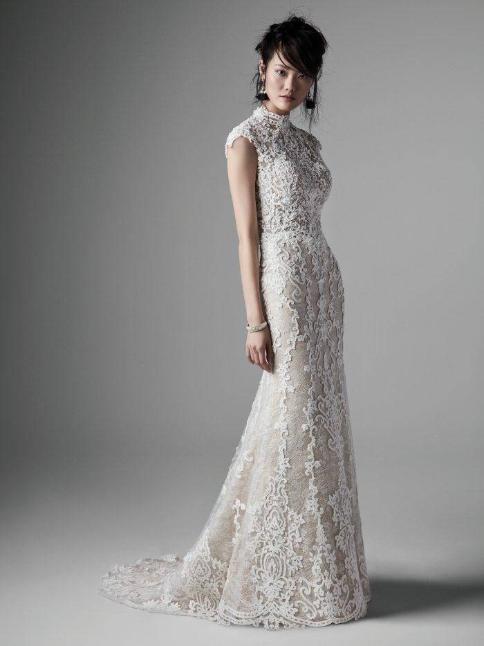 Zinnia Lace Wedding Dress by Sottero and Midgley