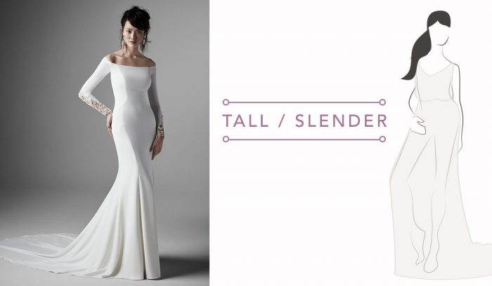 Tall body type help for finding your ideal dress for your body type