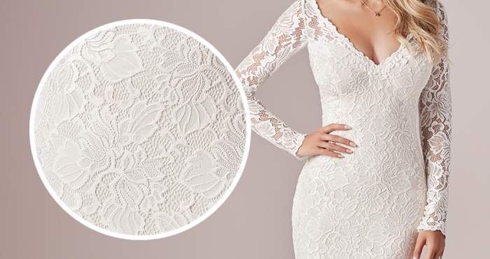 Tina Dawn Lace Wedding Dress by Rebecca Ingram