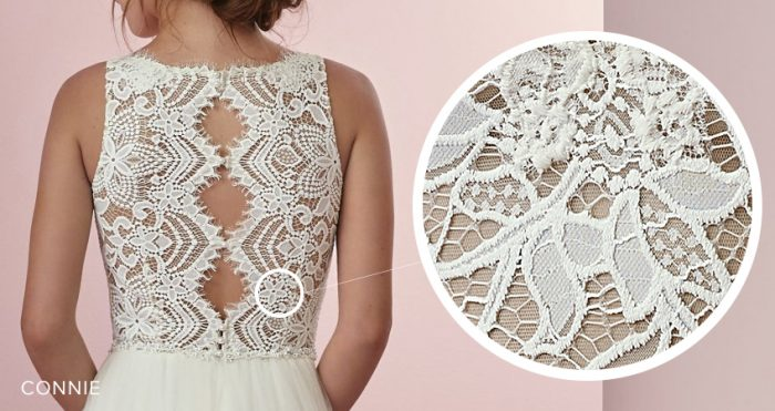 Connie Lace Wedding Dress by Rebecca Ingram