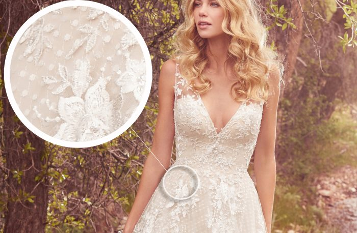 Meryl Lace Wedding Dress by Maggie Sottero