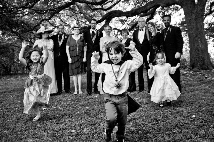 Halloween Wedding Photo
