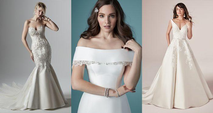 Maggie Sottero Satin Wedding Dresses