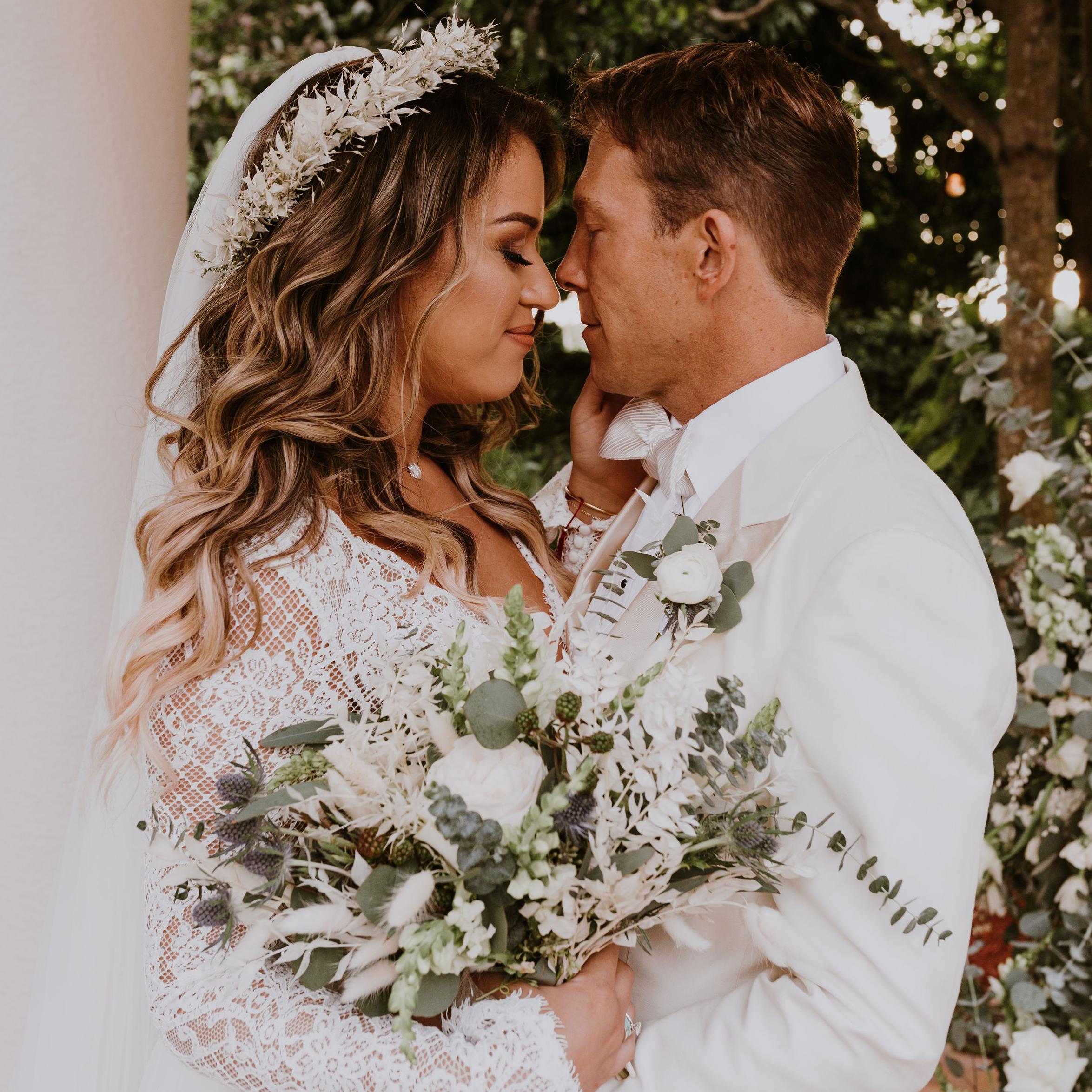 Bride and Groom Boho Inspiration