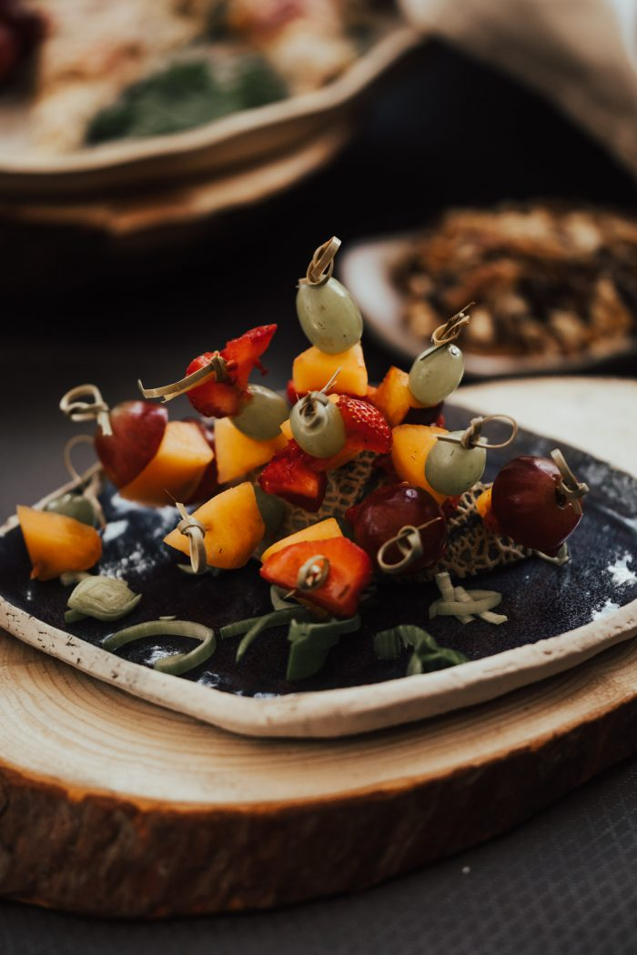Real Fruits and Vegetables at Healthy Wedding
