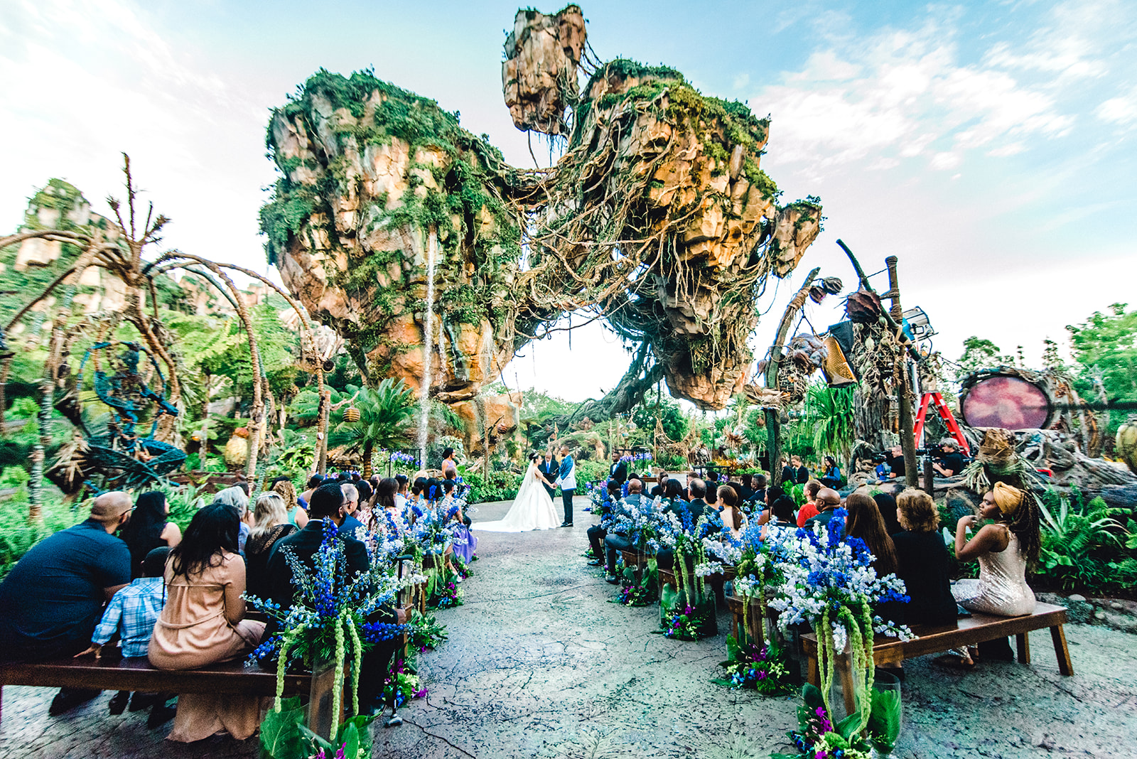 First Ever Fairytale Wedding in Disney's Pandora the World of Avatar