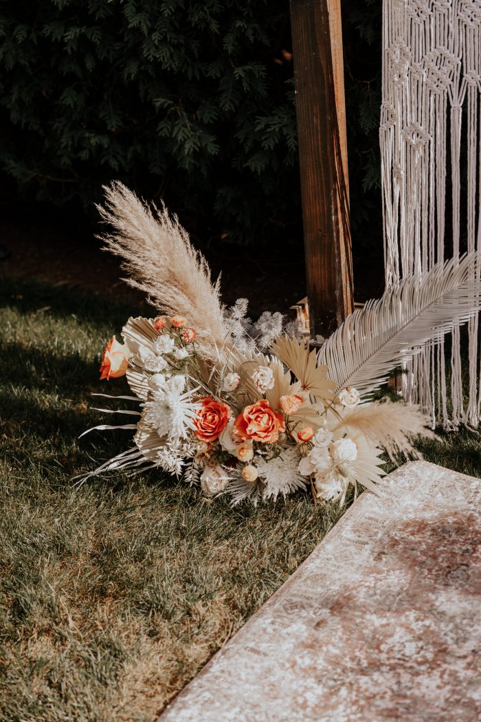 Boho-Chic Wedding Florals by Arbor