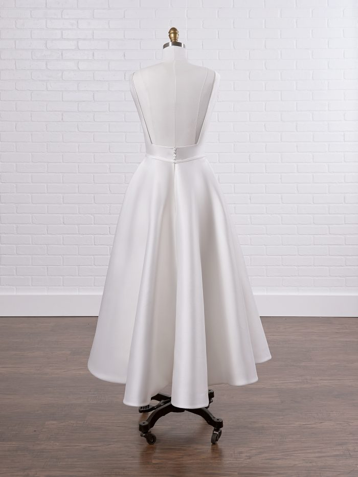Simple Satin Short Wedding Dress Called McCall Lane by Sottero and Midgley