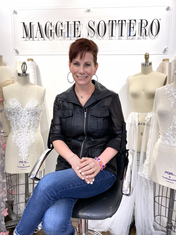 Christina Blanchette VP of Sales and Marketing of Maggie Sottero Designs a Women-Led Company