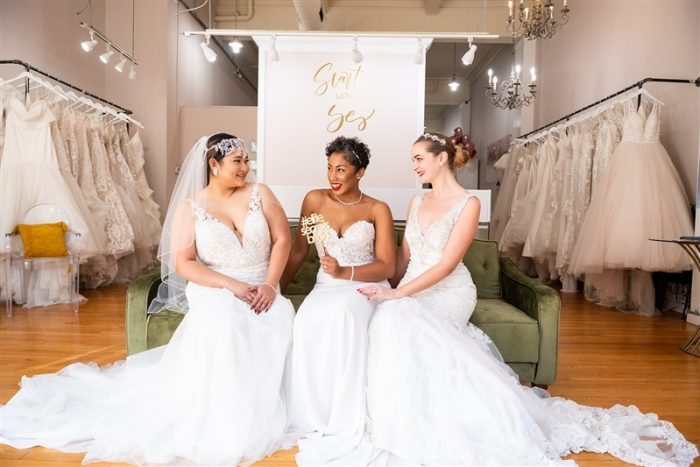 Elite Secrets Bridal Shoot in Baltimore Maryland featuring Maggie Sottero Wedding Dresses